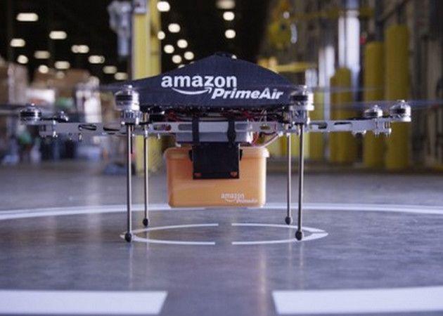 Amazon Prime Air, reparto de paquetes con drones