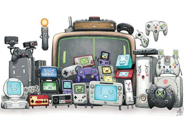 consolas de videojuegos que son
