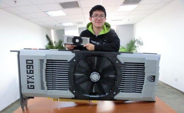 GTX 690 enorme hecha con piezas de Lego i312x3