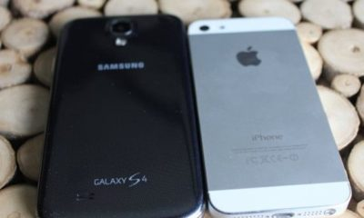 iPhone 5S supera en ventas al Galaxy S4
