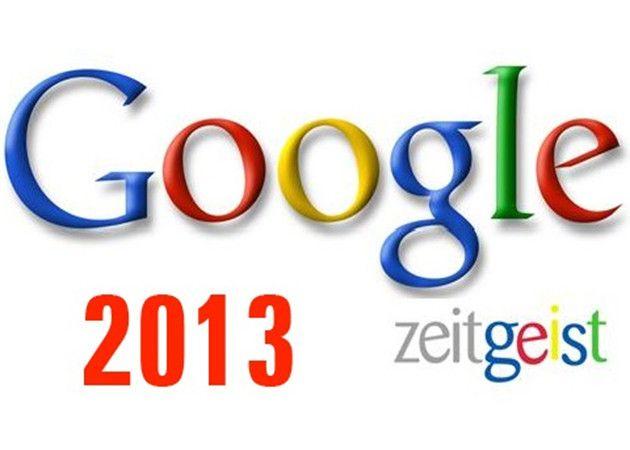 Google Zeitgeist 2013, lo más buscado del año