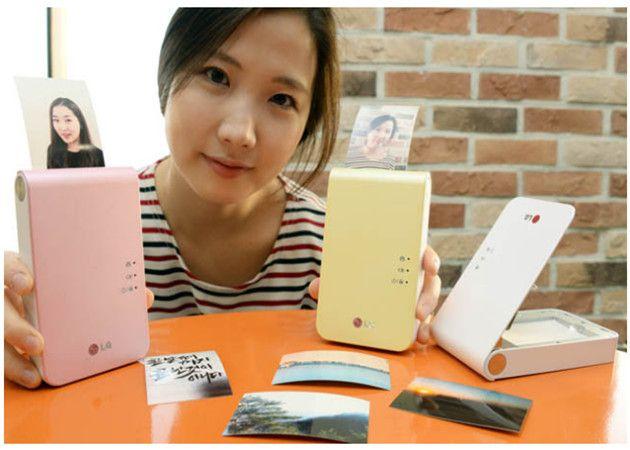 LG presenta el Pocket Photo 2 para impresión móvil