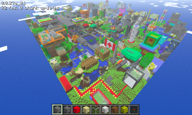 Minecraft estaría ya en desarrollo apra Wii U im30m231m,x