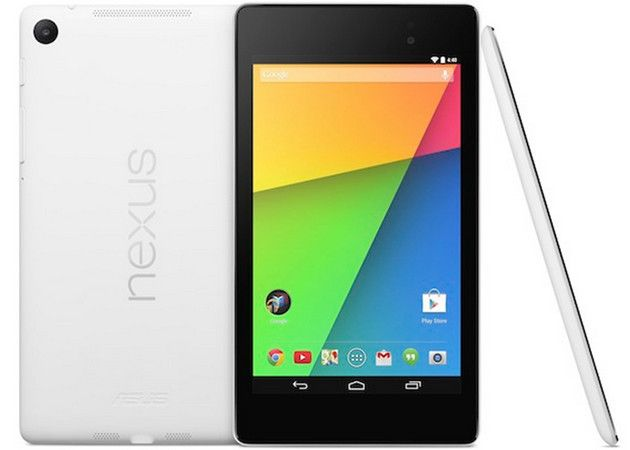 Google Nexus 7 disponible en blanco