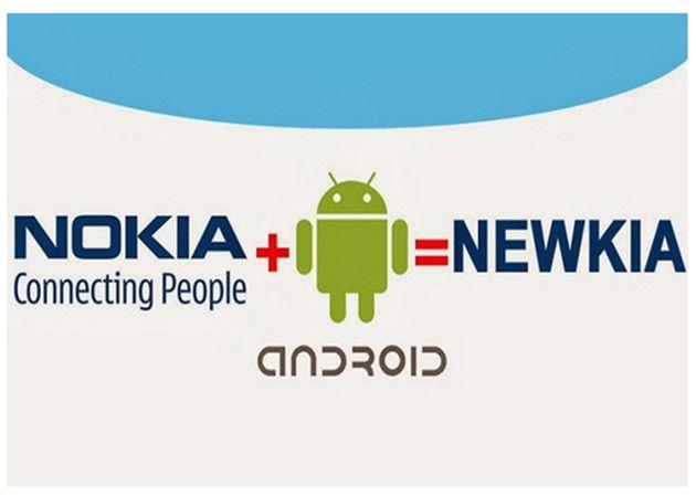 Nokia con Android=Newkia