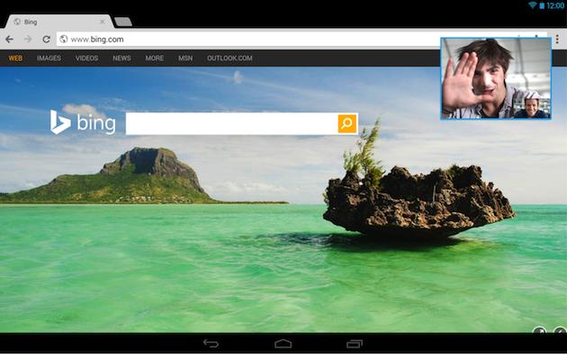 Skype 5.5 para tabletas Android