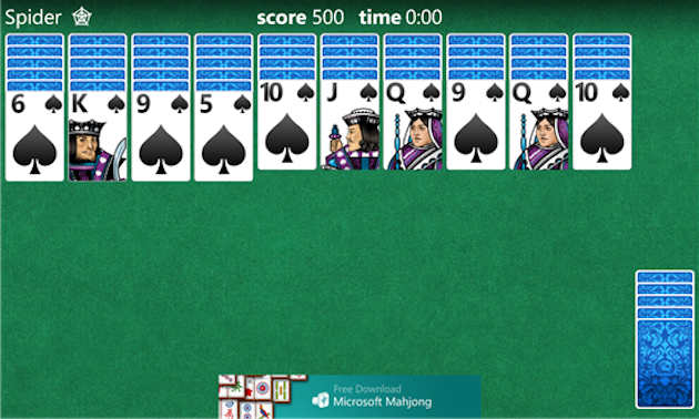 Buscaminas, Solitario y Mahjong Windows Phone