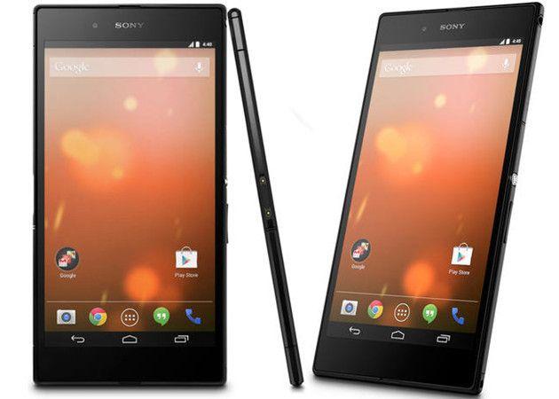 Sony Xperia Z Ultra también con Android puro
