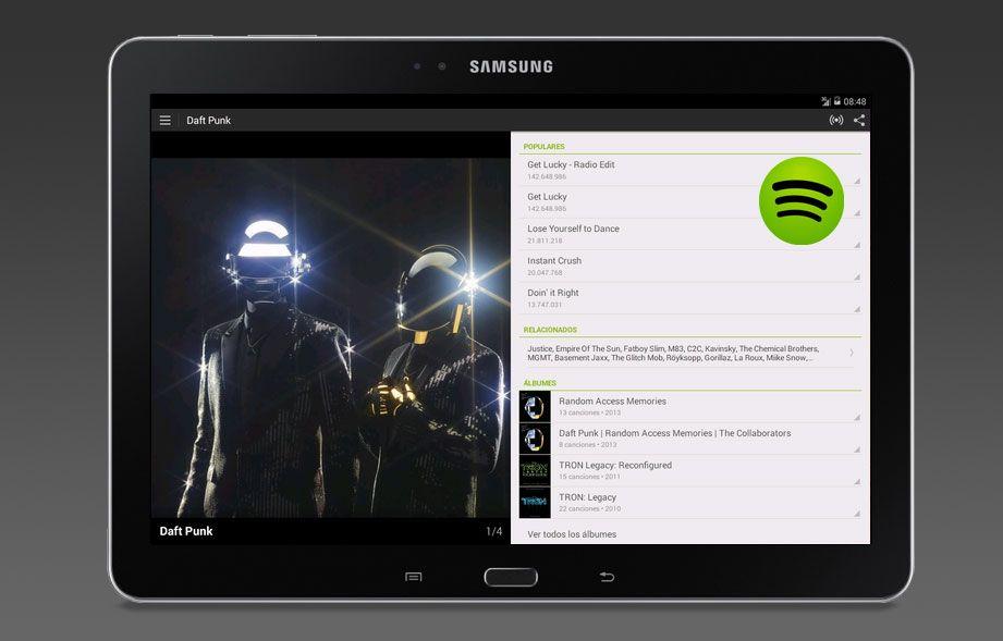 El uso de Spotify en el móvil se dispara