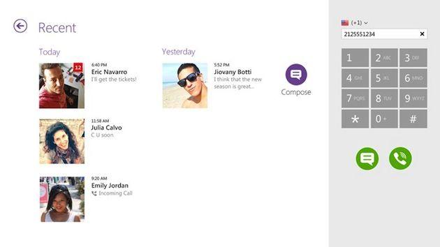 Viber llega a Windows 8