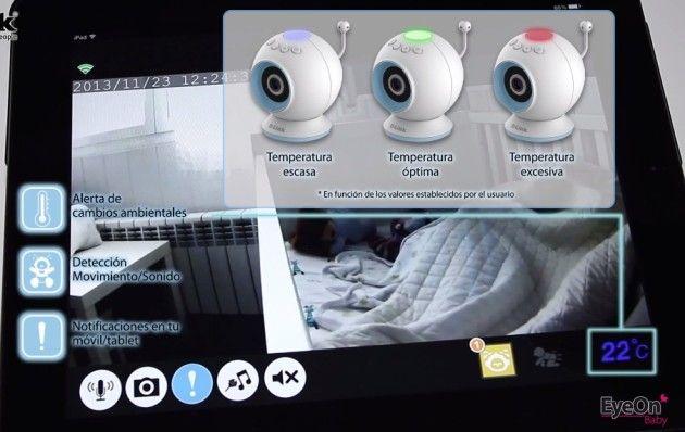 Vigilabebés EyeOn Baby Camera m3021mx33