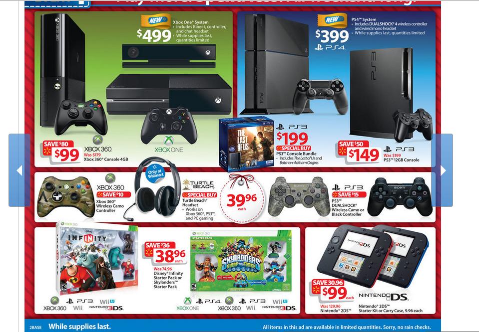 Xbox One supera en ventas a PS4 durante el BlackFriday