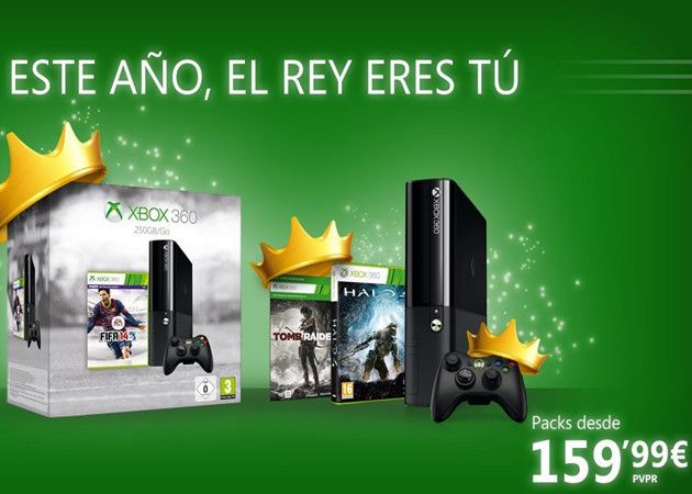 Xbox 360 rebaja precio hasta el 7 de enero