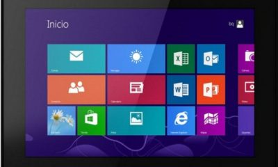 bq Tesla W8, tablet español con Windows 8