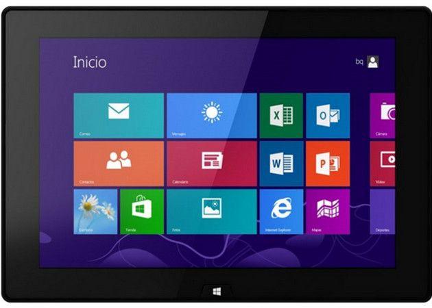 bq Tesla W8, tablet español con Windows 8