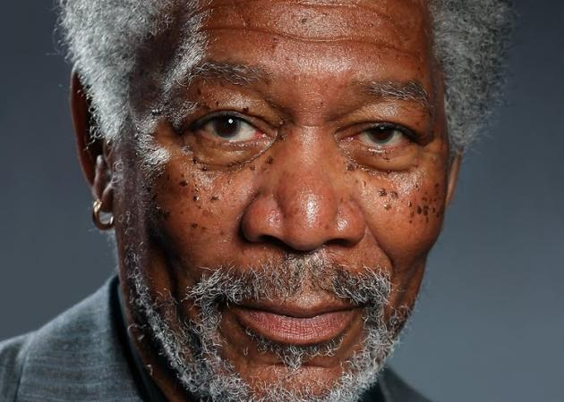 Pintura digital fotorrealista de Morgan Freeman, lo nunca visto