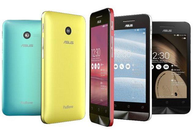ASUS ZenFone, smartphones económicos con Intel y Android