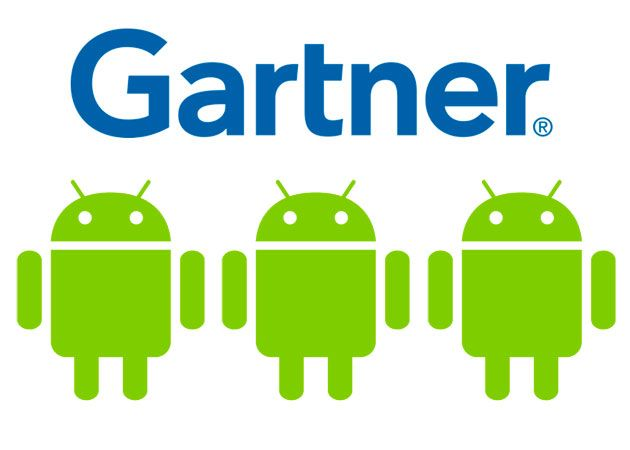 1.000 millones de dispositivos Android en 2014 Gartner