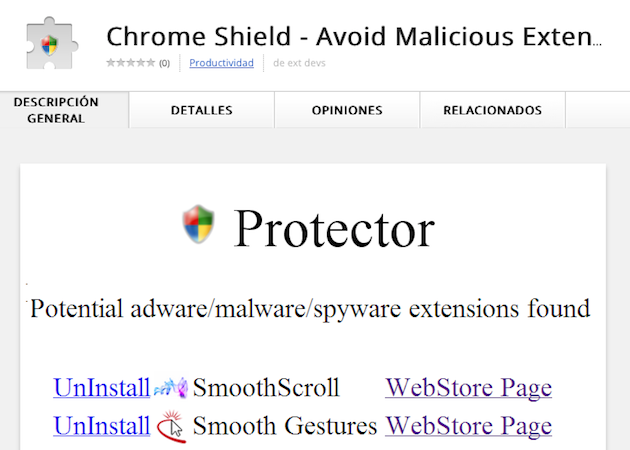 Chrome Shield, una extensión anti-adware