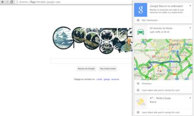 Google Now llega a PC y Mac