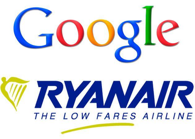 Google y Ryanair