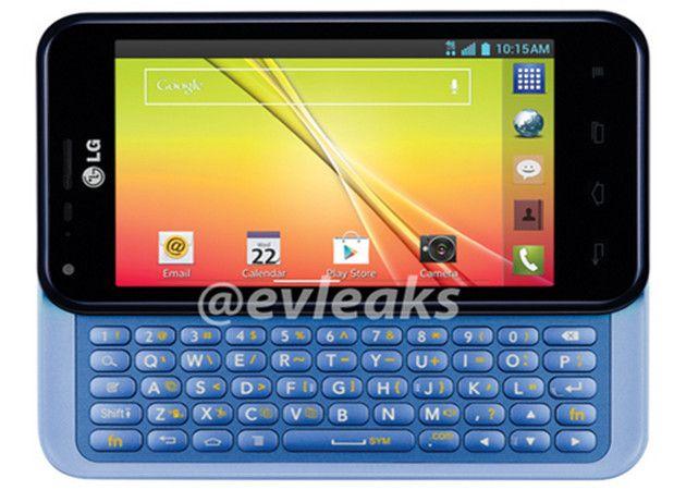 LG Optimus F3Q, resucita el teclado físico en móviles