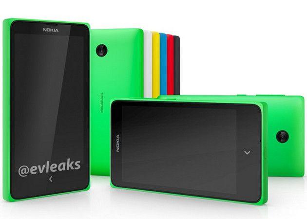 Nokia X ¿el smartphone con Android?