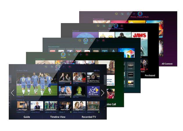 Samsung Smart Hub Juegos HD