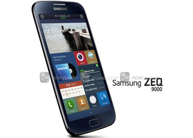 Samsung ZEQ 9000, aquí está el smartphone con Tizen