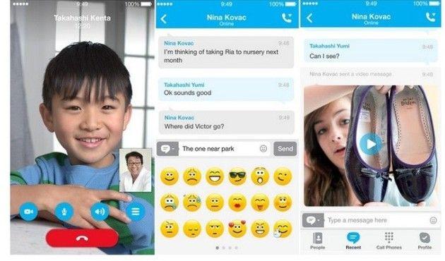 Skype para iOS om'03m1x