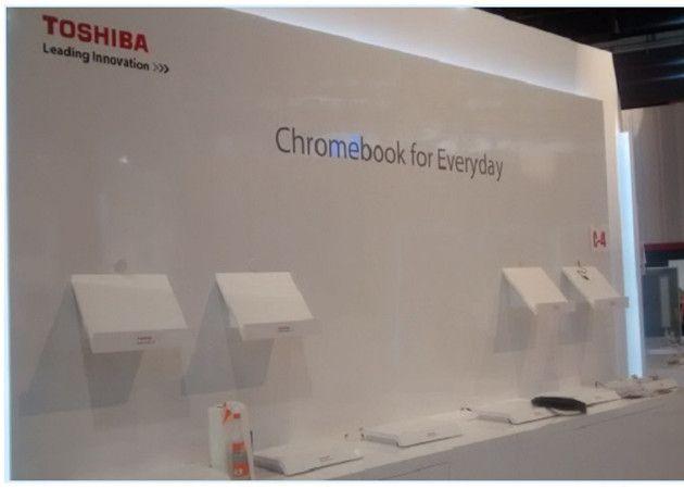 Toshiba Chromebook en el CES