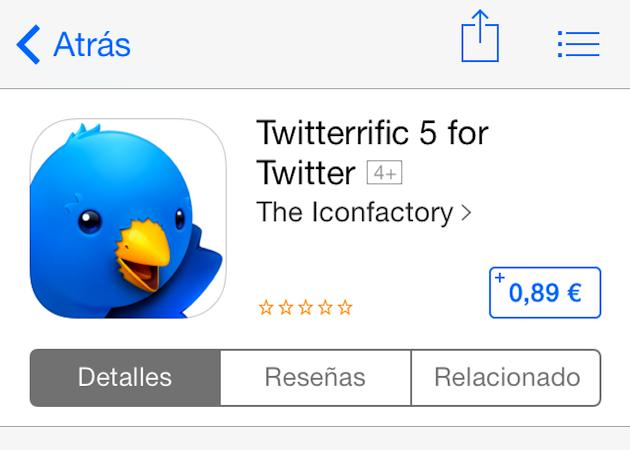Twitterrific 5 oferta