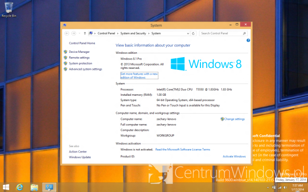 Windows 8.1 Update 1 im0mxm231