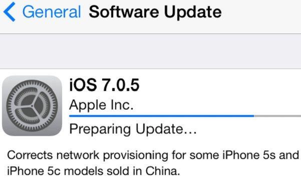 iOS 7.0.5 i301mx
