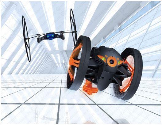 Parrot presenta en el CES nuevos drones y tecnología para el coche