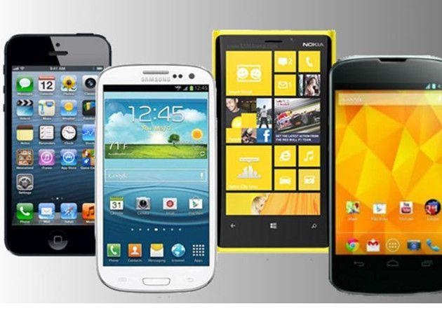 Las ventas de smartphones superan los 1.000 millones en 2013