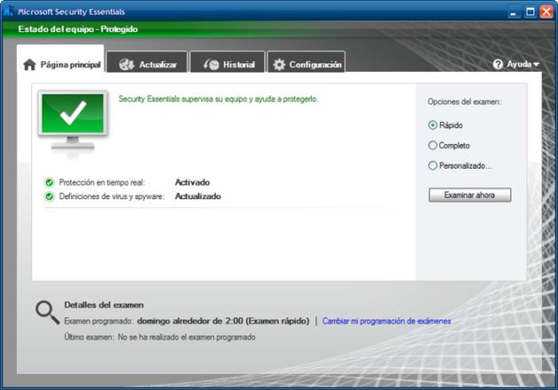 soporte de Security Essentials para Windows XP 3m1omx