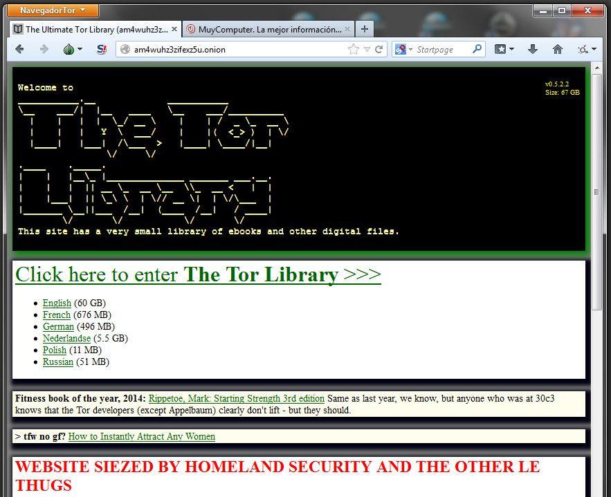 Deep Web Library
