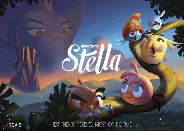 Angry Birds Stella, lo nuevo de Rovio