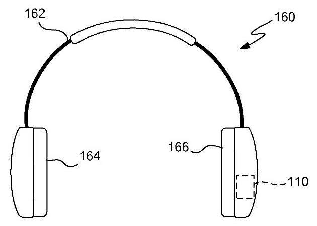Apple auriculares con cuantificación patente