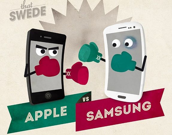 Apple y Samsung 2301mx