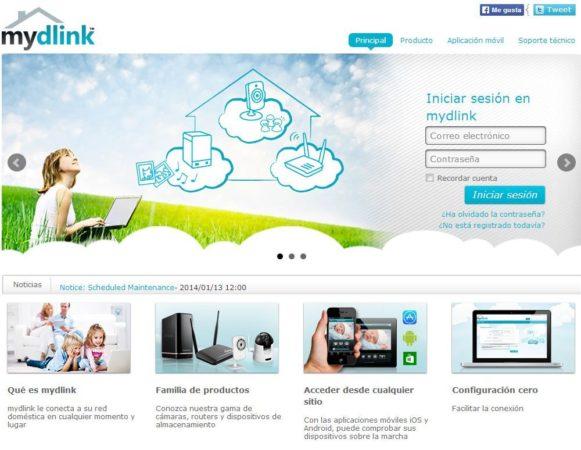 D-Link actualiza mydlink i301mx