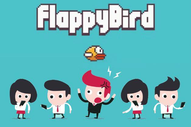 Flappy Bird era demasiado adictivo i301mx