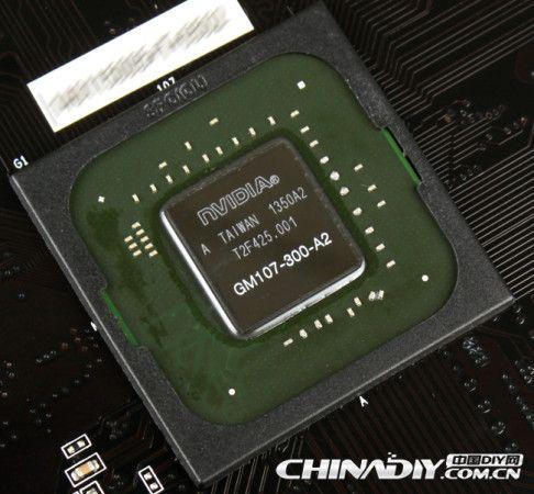GTX 750 Ti de NVIDIA i301mx