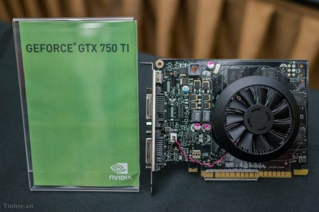 GTX 750 Ti y GTX 750 i0231mx