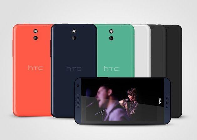 HTC Desire 610, con pantalla de 4,7 pulgadas