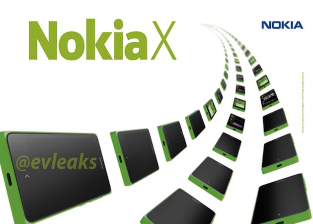 Nokia X imágenes de prensa