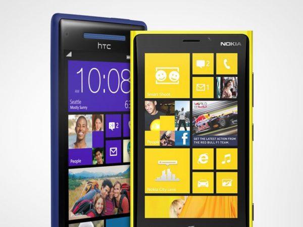Nokia y HTC 3i1203m12x