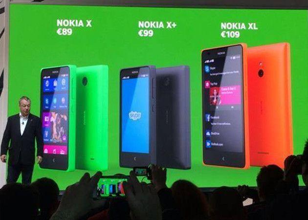 Nokia X, Nokia se rinde a Android