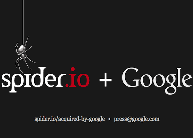 Google compra Spider.io